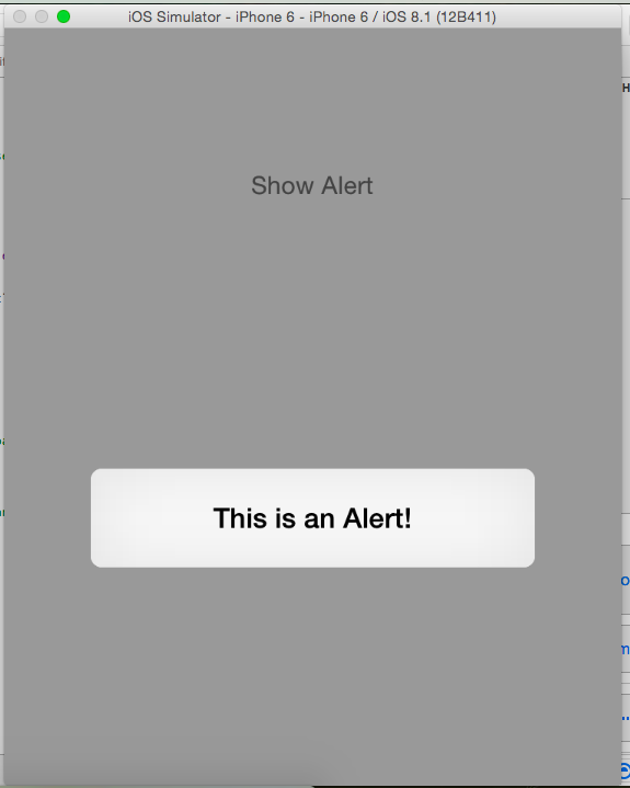 iOS Swift Alert