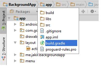 app build.gradile