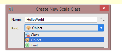 create new object Scala 2